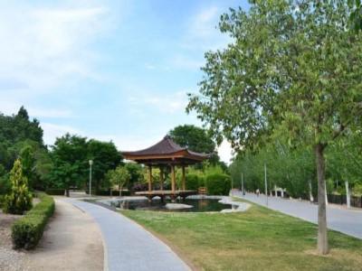 parque jardin de la vega de alcobendas