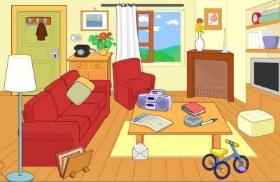 I sal n del dibujo en centro cultural nicol s salmer n for Living room y sus partes